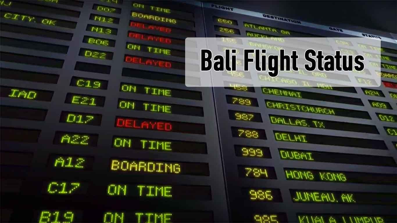 Bali Airport Flight Status
