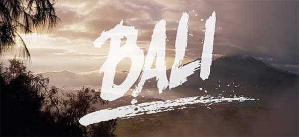 Read more about the article Why come to Bali